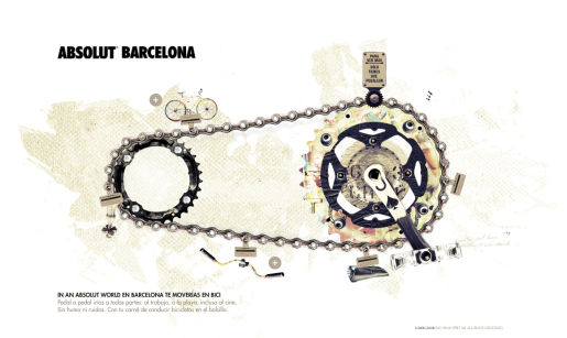 Absolut Barcelona Bicycle