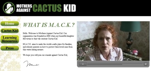Mothers Against Cactus Kid Run site