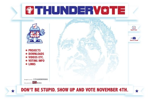 Thundervote Site