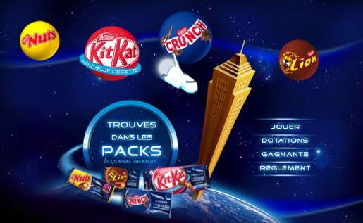 Kitkat Space Voyage Game