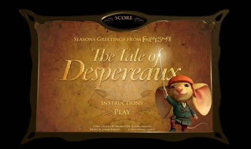 Tale of Desperaux online game