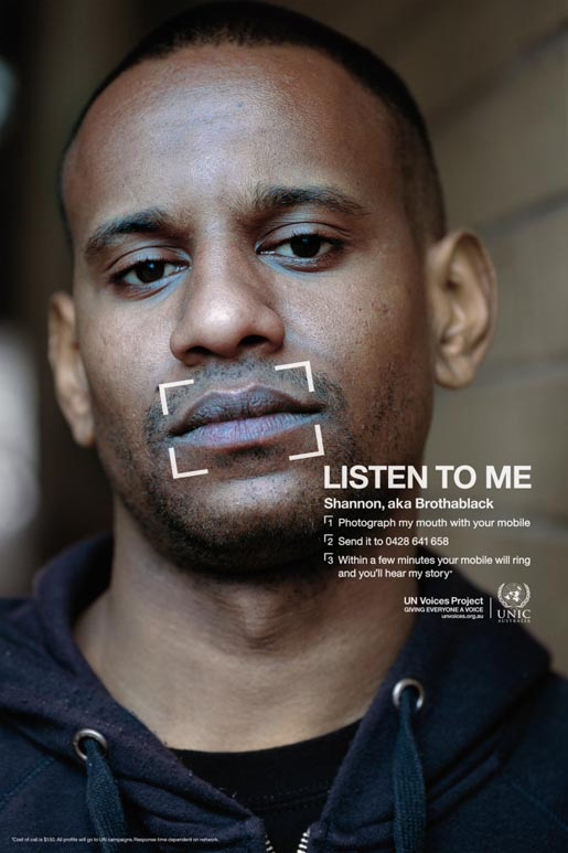 Bro Black in UN Voices campaign