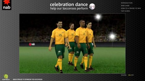 Socceroos Celebration Dance