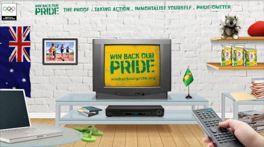 Win Back Our Pride web site