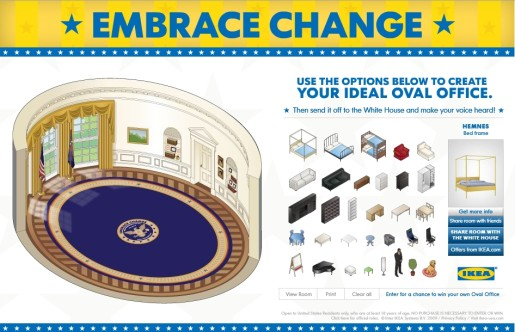 IKEA Embrace the Change site