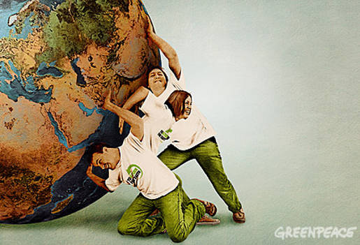 Greenpeace You Turn The Earth