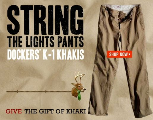 Dockers Wear The Pants ad