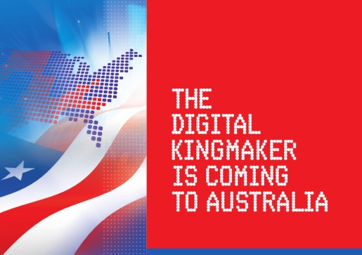 Digital Kingmaker is coming to Australia