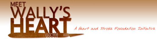 Header from Meet Wally's Heart web site