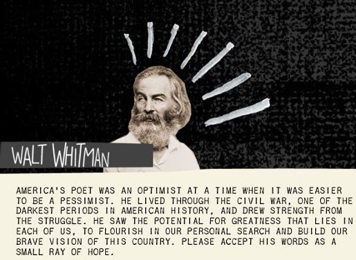 Walt Whitman Ray of Hope in Levi Strauss Go Forth campaign