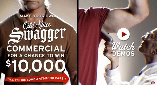 Old Spice Swagger contest