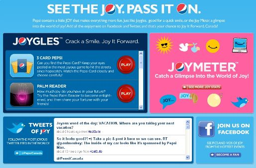 Pepsi Joy It Forward