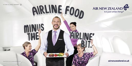Air New Zealand Airline Food without the Airline