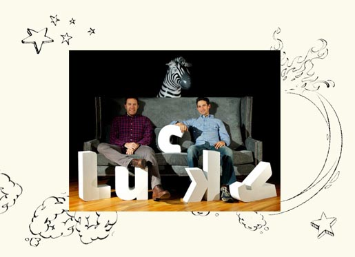 Jonathan Rosen and Ryan O'Hara Theisen at Lucky Viral Branded Content