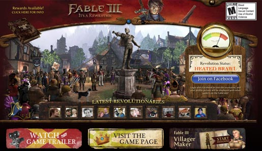 Fable 3 Revolution The Inspiration Room