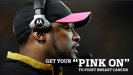 NFL Pink Team Up with American Cancer Society