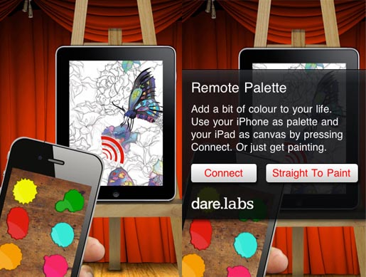 Remote Palette app by Dare