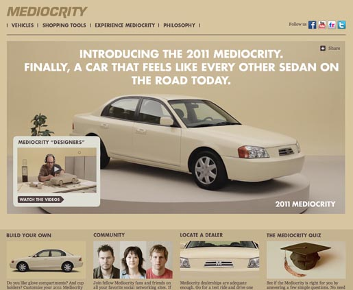 Subaru Fight Mediocrity site