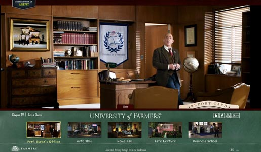 University of Farmers Insurance site