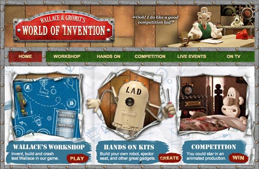 Wallace & Gromit's World of Invention