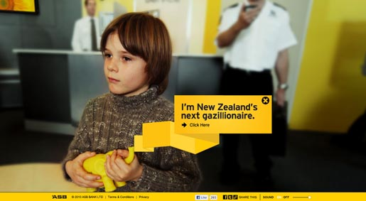 ASB Creating Futures for NZ's next Gazillionaire
