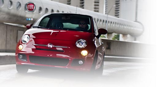 Fiat 500 background