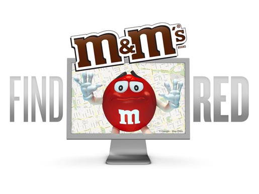 M&Ms Find Red