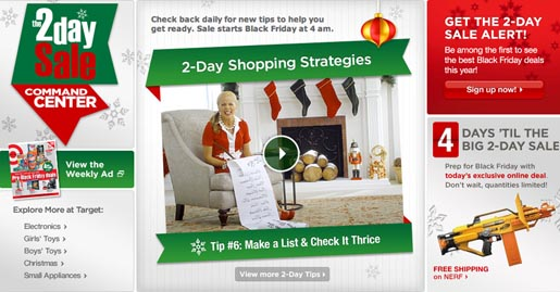 Target 2 Day Sale Shopping Tips