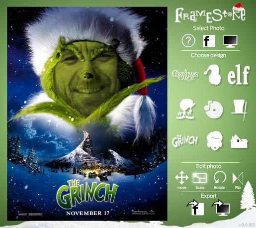 Framestore Grinch Card