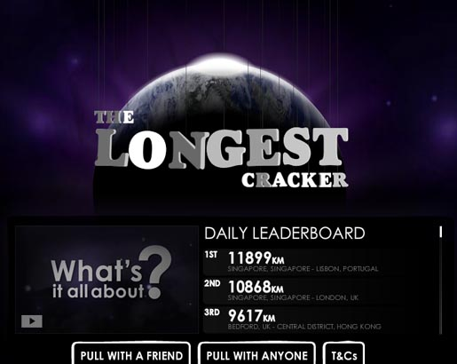 The Longest Cracker site