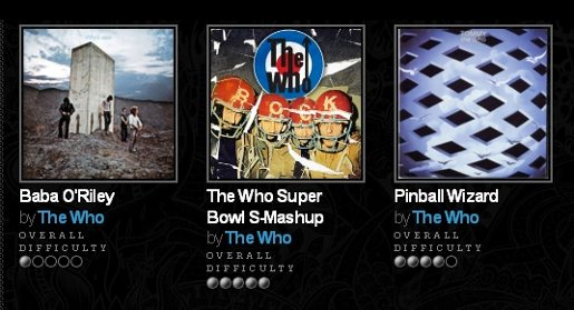 The Who on Rockband