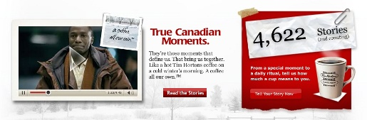 Tim Hortons True Canadian Moments