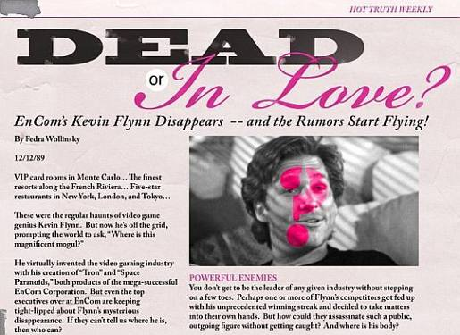 Flynn Dead or in Love