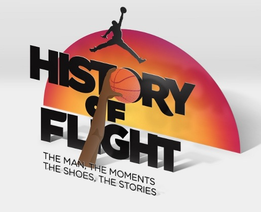Nike Jordan History of Flight site