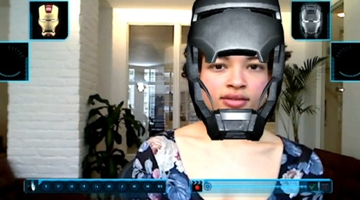 I Am Iron Man 2 Augmented Reality app