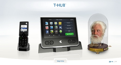 Telstra T-Hub and  Alexander Graham Bell