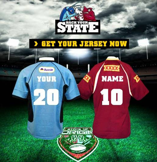 NRL Back Your State jerseys