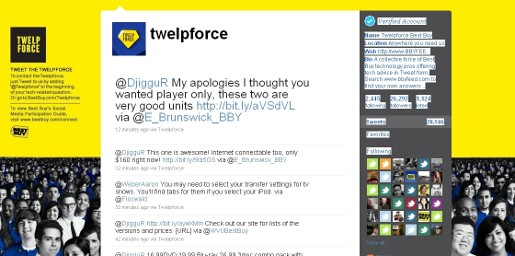 Best Buy Twelpforce