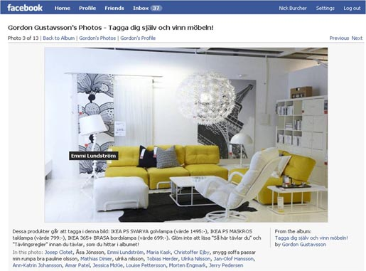 IKEA Facebook Photo