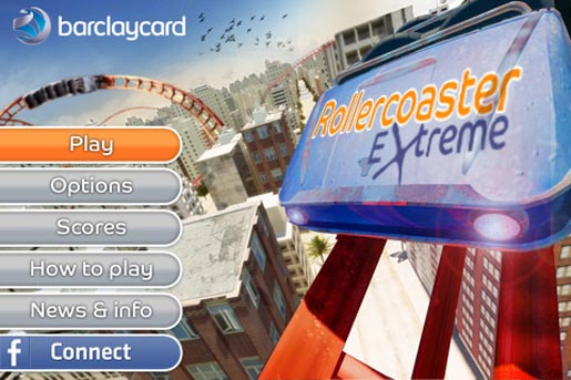 Barclaycard Rollercoaster Extreme Game
