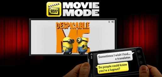 Despicable Me Movie Mode