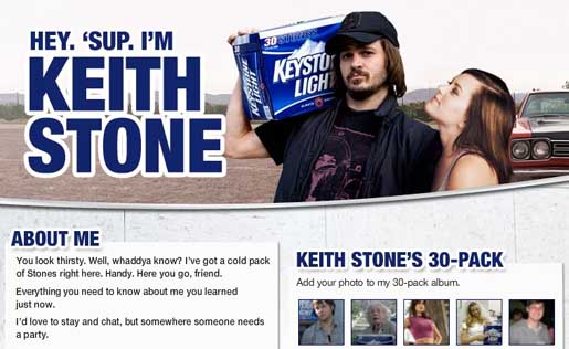 Keith Stone Facebook page