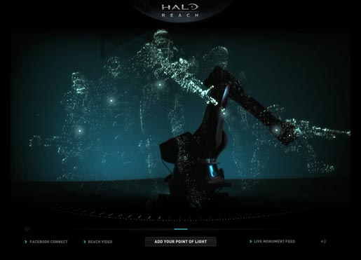 Halo Reach Site