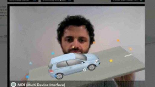 Volkswagen Golf Augmented Reality