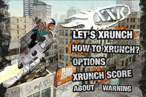 Baby Carrots XTreme XRunch Kart iPhone app