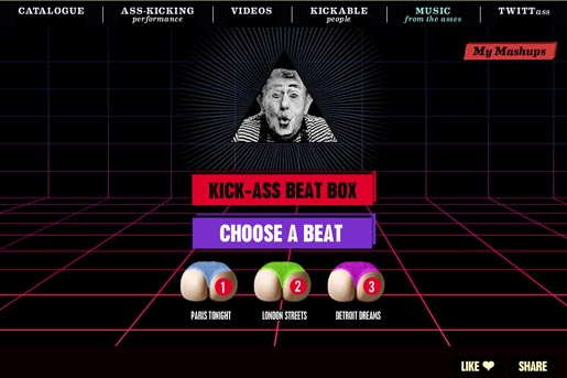 Diesel Kick Ass Beat Box