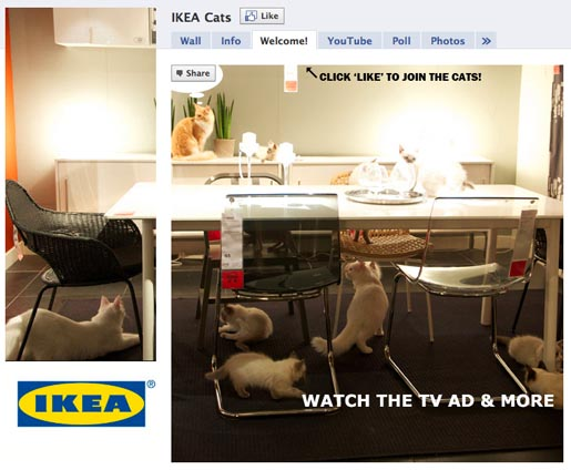 IKEA Cats Facebook page