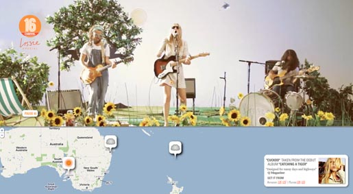 Lissie Cuckoo Weather site