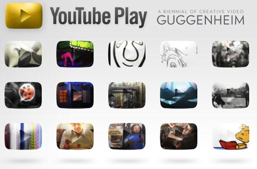 Youtube Play Guggenheim site