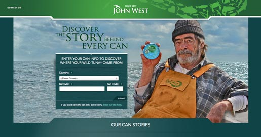 John West Discover The Story